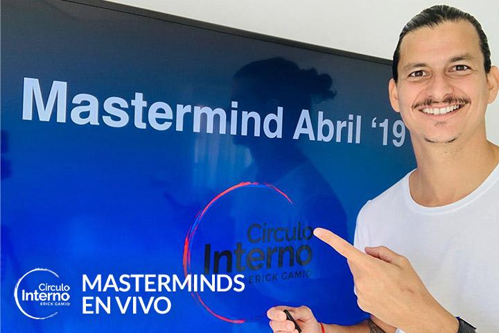 Masterminds en Vivo de Preguntas y Respuestas con Erick Gamio - MiCirculoInterno.com